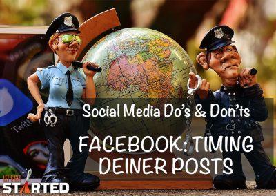 Facebook: Timing deiner Posts
