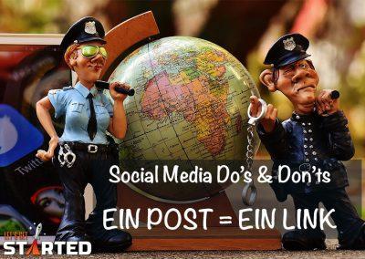 Ein Post = Ein Link