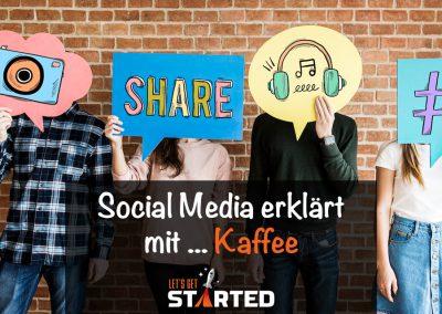 Social Media erklärt mit … Kaffee!