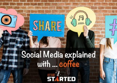 Social Media explained with … coffee!